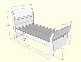 measurements of twin bed nexera alegria twin size sleigh bed n 5639