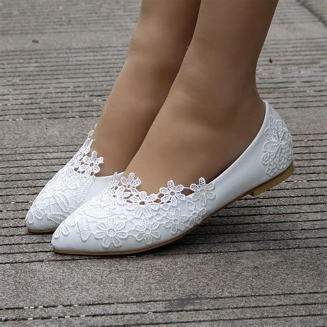 White Wedding Flats by Unique Flat Wedding Shoes 28 Images Platform Flat
