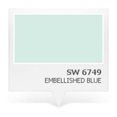 sw 6749 embellished blue paint colors