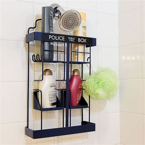 adventures through time and space with a tardis shower