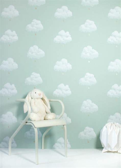 babyzimmer wolken wolken malen kinderzimmer kinderzimmer dekoration