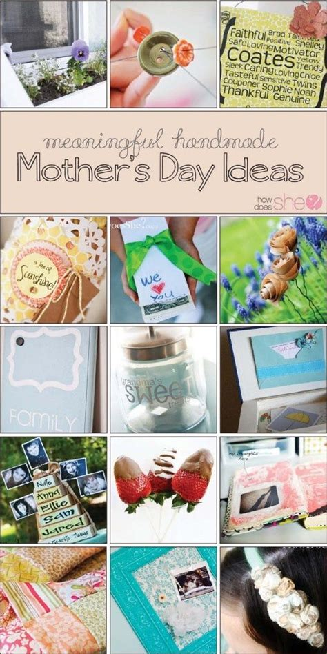 30 meaningful handmade gifts for mom personal meaningful homemade mother s day gift ideas