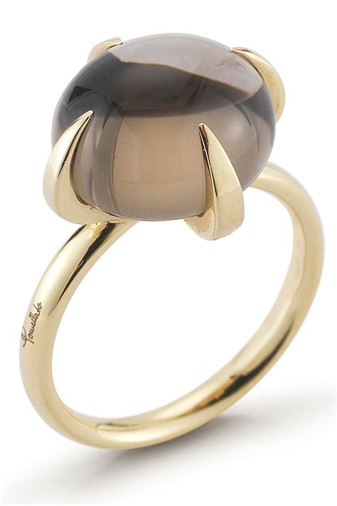 pomellato vintage vintage pomellato smoky quartz ring needful things