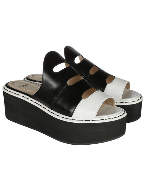 fendi sandals fendi fendi leather platform sandals s sandals
