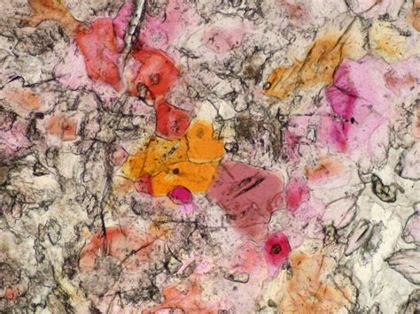 Piemontite Thin Section by Piemontite Spectrum