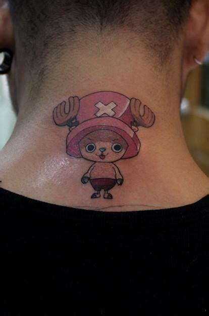 one piece character tattoo tony tony chopper manga anime video game and comic
