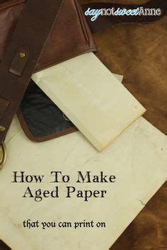 How To Make A Paper Look Burnt - how to burn the edges safely for your aged paper look