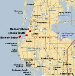 belleair bluffs florida map belleair incld belleair shores belleair belleair