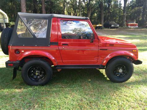 auto manual repair 1993 suzuki samurai electronic toll collection suzuki samurai 91 fuel injection for sale in bloomingdale georgia united states