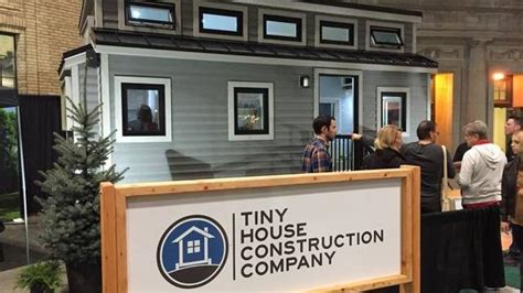 Small Home Construction Companies This New Tiny Home Design Makes A Big Splash At Canadian