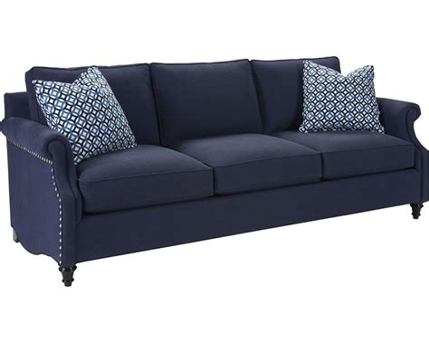 custom settee ancil sofa custom thomasville furniture