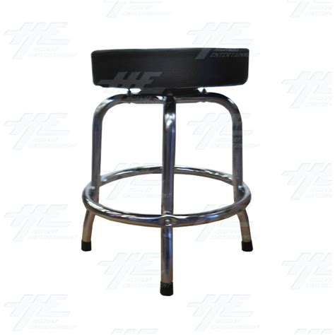 Arcade Stools by Arcade Stool Chrome With Swivel Seat