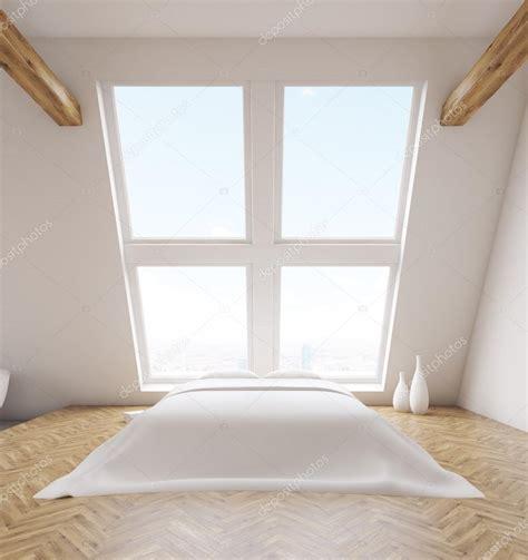 fronte interno fronte interno di soppalco da letto foto stock