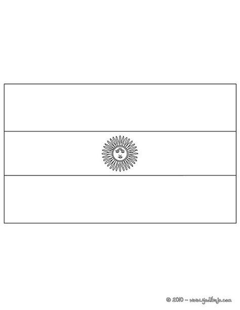 bandera de argentina para colorear para imprimir gratis dibujos para colorear bandera argentina es hellokids com