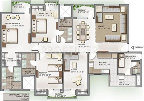 apartment layout plans india 2350 sq ft 3 bhk 4t apartment for sale in 3c lotus panache