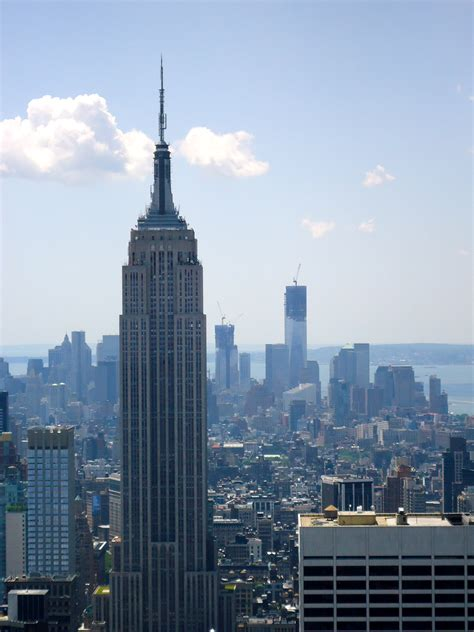 Empire Of Freedom freedom shines from top of the rock world trade rising
