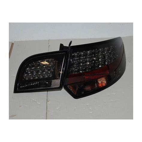 audi a3 sportback led tail lights set of rear tail lights audi a3 sportback 04 08 led black