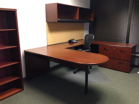 u shaped office furniture wood home office furniture