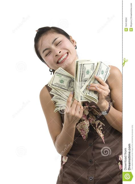 Win Lots Of Money Free - pretty woman happy with lots of money stock images image 16414504