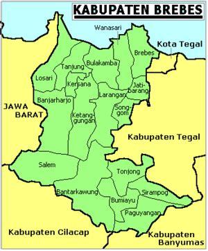 kabupaten brebes wikipedia bahasa indonesia