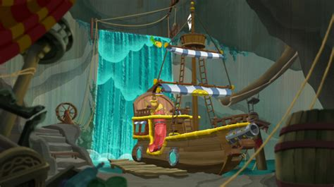buckys room hideout jake and the never land wiki