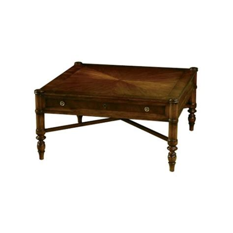 hekman coffee table hekman 7 2833 accents and occasional square coffee table