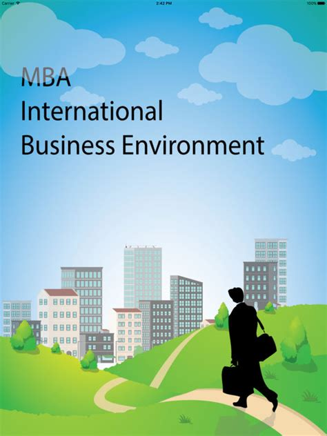 Mba Global Business by App Shopper Mba International Business Environment Business