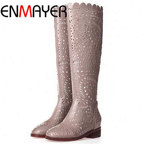 17 Most Fashionable The Knee Boots by Enmayer Summer New Boots Fashion Knee
