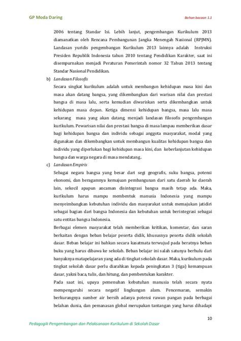 Rosda Kurikulum Yang Disempurnakan Pengembangan Standar Kompetensi Bahan Bacaan 1 1 Rasional Pengembangan Dan Pelaksanaan