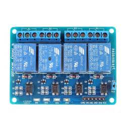 sainsmart 4 channel 5v relay module for pic arm avr dsp arduino msp430 ttl logic 3d printing