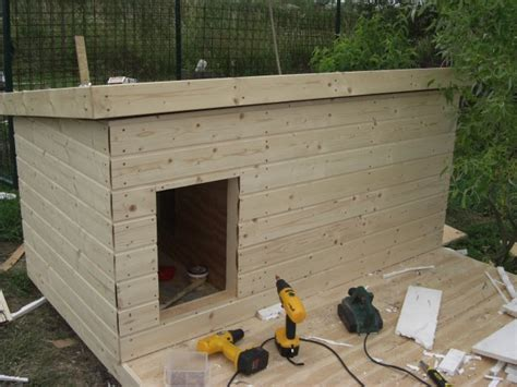 how to build a dog house cheap bauplan f 252 r eine hundeh 252 tte