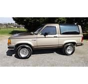 1990 Ford Bronco II BRONCO  BEIGE For Sale Craigslist Used Cars