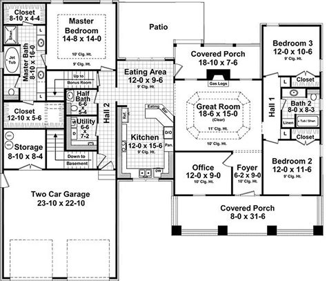 1940s house plans craftsman style house plan 3 beds 2 baths 1940 sq ft plan 21 359