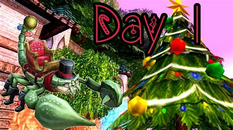 wizard101 12 days of the spiral bah humbug youtube