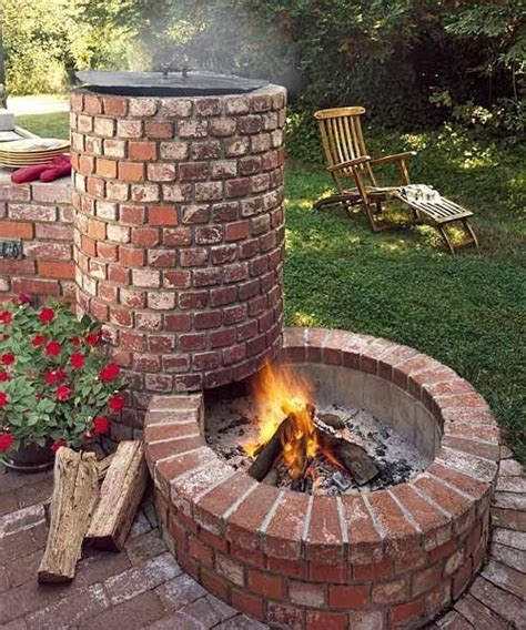 Grill Backyard by Best 25 Barbecue Pit Ideas On Outdoor Kitchen