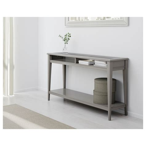Console Ikea by Liatorp Console Table Grey Glass 133 X 37 Cm Ikea
