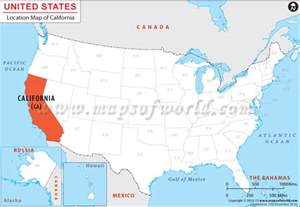 where is california location of california
