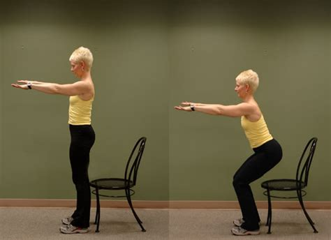 Chair Squats broken hip san francisco sport and spine physical therapy