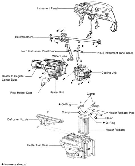 instruction for a 2012 toyota rav4 heater core repair guides heater core removal installation 1 autozone com