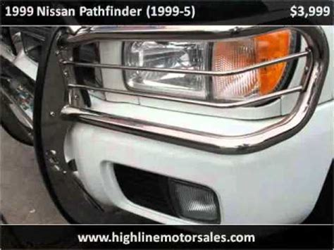 electric and cars manual 1999 nissan pathfinder on board diagnostic system 1999 nissan pathfinder problems online manuals and repair information