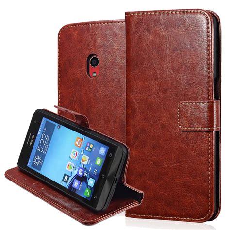 Casing Leather Wallet Zenfone 5 Asus Dompet Lipat Tempat Kartu X Zen Fone 5 Vintage Wallet Leather For Asus Zenfone 5