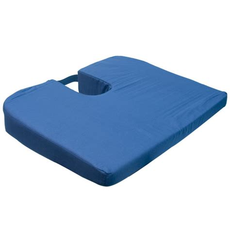 coccyx cusion maxiaids seatmate sloping coccyx cushion