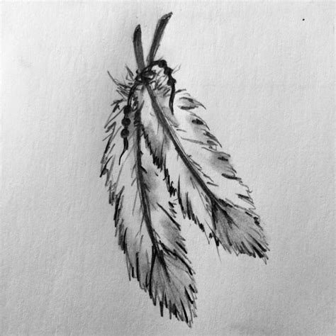 tattoo feather drawing feather tattoo sketch by ranz pinterest feathers