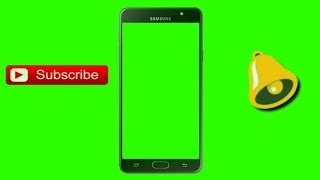 No Copyright Green Screen Hand Mobile Subscribe Bell Intro Clipzui Com Bell Icon Intro Template After Effects