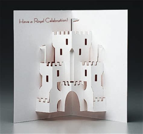 how to make a pop up castle card pop up castle