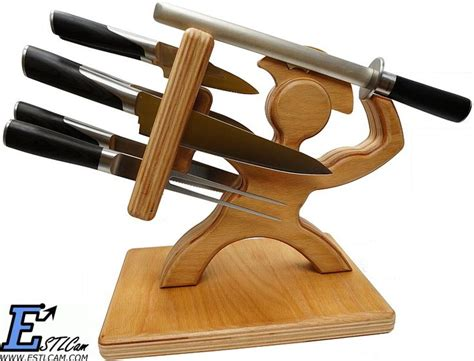 cool knife block sword fighting knife holder for muh real house