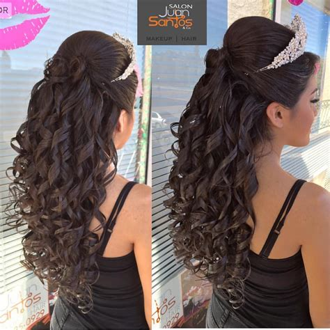 Wedding And Quinceanera Hairstyles by 20 Absolutely Stunning Quinceanera Hairstyles With Crown