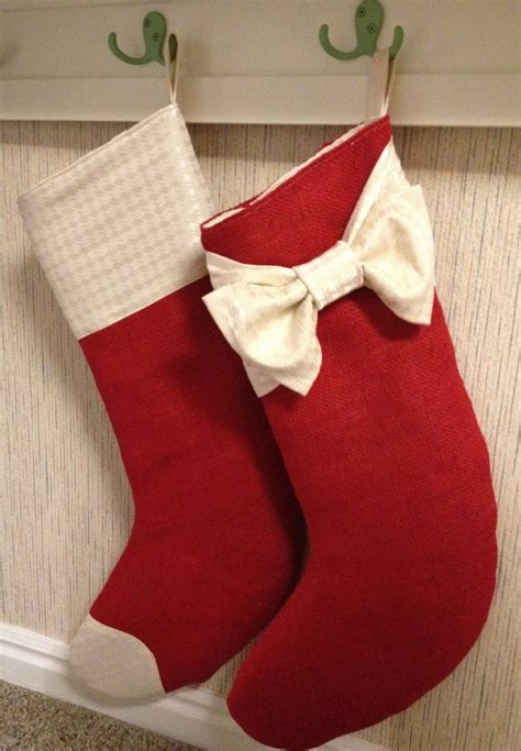 pattern for burlap christmas stockings how to make burlap christmas stockings 15 diy