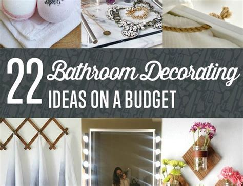 how to decorate your home on a budget diy bathroom decorating ideas shamco property management
