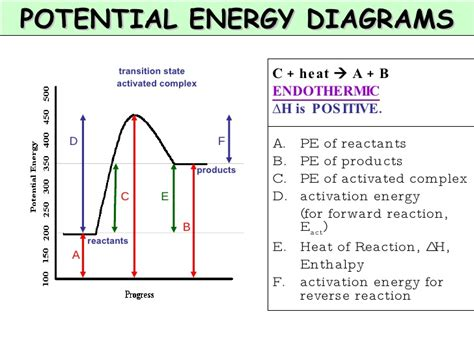 exothermic potential energy diagram chapter 7 kinetics and equilibrium